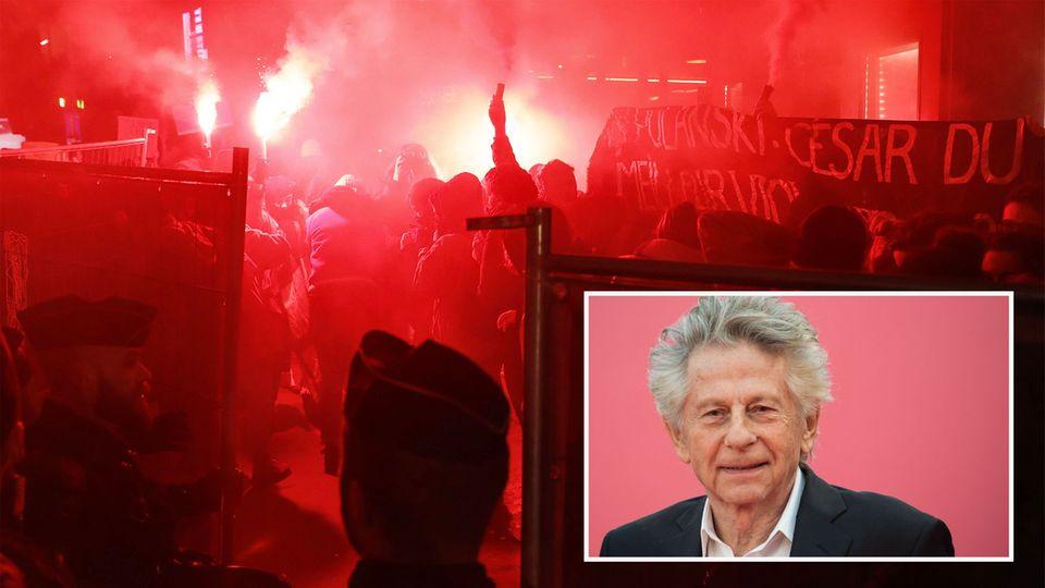 César 2020: Proteste gegen Roman Polanski bei Filmpreisverleihung in Paris