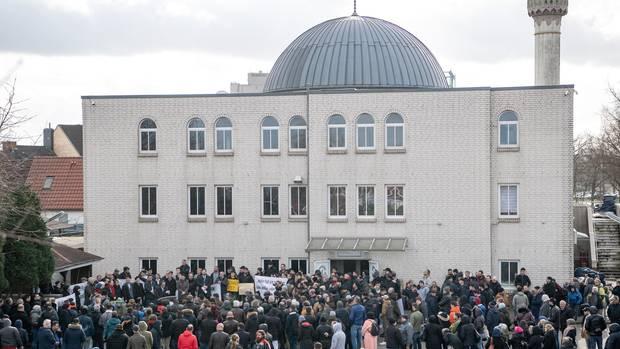 Die BremerFatih-Moschee: Hier ging nach dem Anschlag in Hanau eine Bombendrohung ein. Am Samstag kam ein verdächtiger Brief an