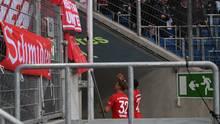 Joshua Kimmich und David Alaba liefen in die Bayern-Kurve, um auf die Fans einzureden