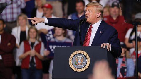 Donald-Trump bei einer Wahlkampfveranstaltung in South Carolina
