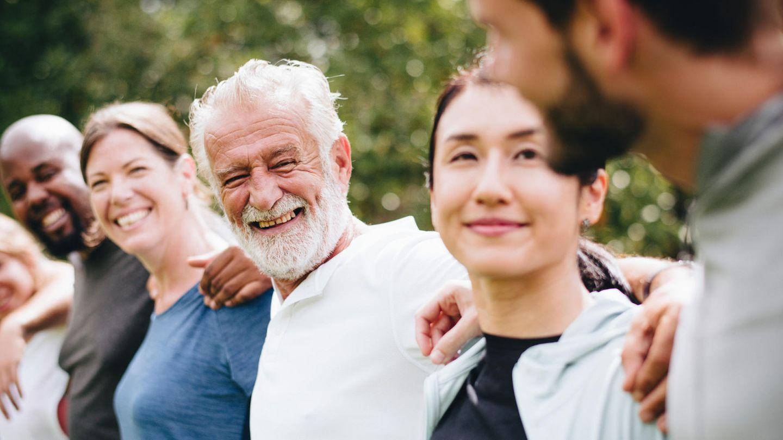 Mit 54 Jahren steigt die Zufriedenheit, ermittelte ein Neurowissenschaftler