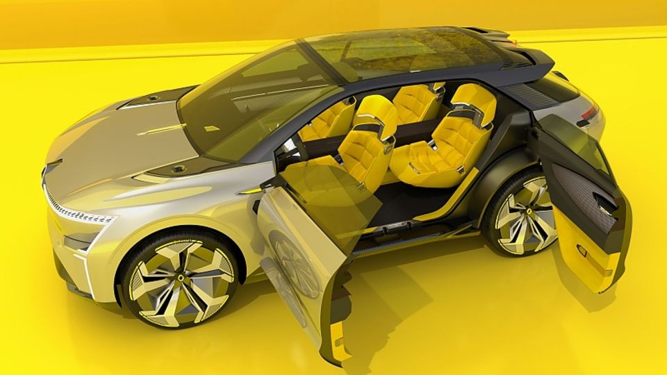 Der Renault Morphoz (Z36) ist vollelektrisch