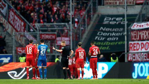 Bayern- und Hoffenheim-Profis weigerten sich nach der zweiten Spielunterbrechung, vernünftig weiterzuspielen
