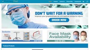Angst vor Coronavirus: Foto zeigt Fake-Shop im Internet