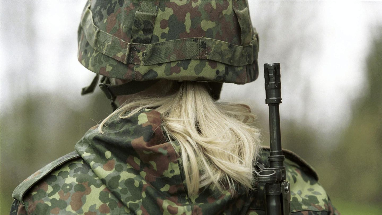 Bundeswehr Soldatin