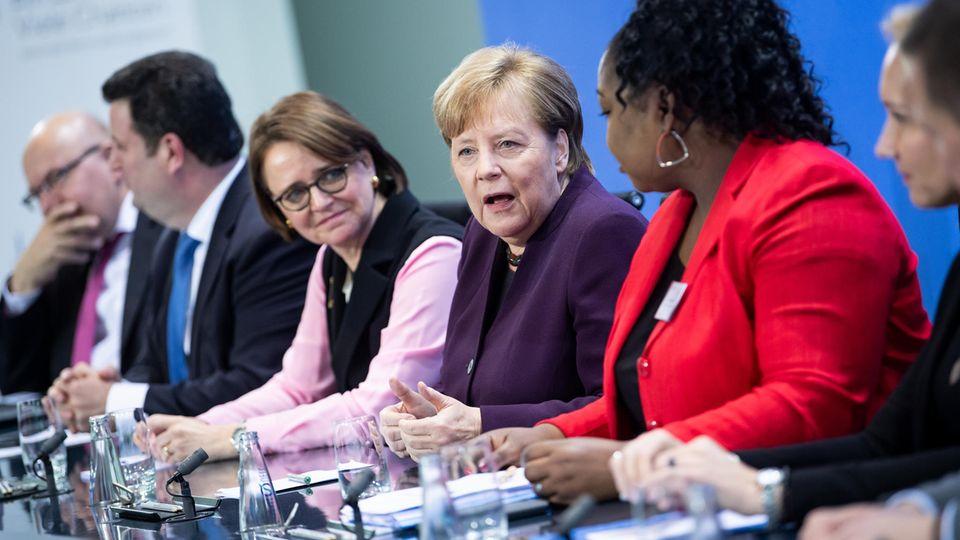 Kanzlerin Angela Merkel sorgt mit persönlicher Aussage zur Integration für Aufmerksamkeit.