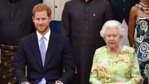 Für Enkel Harry: Mit diesem Zeichen zeigt die Queen ihre Wertschätzung