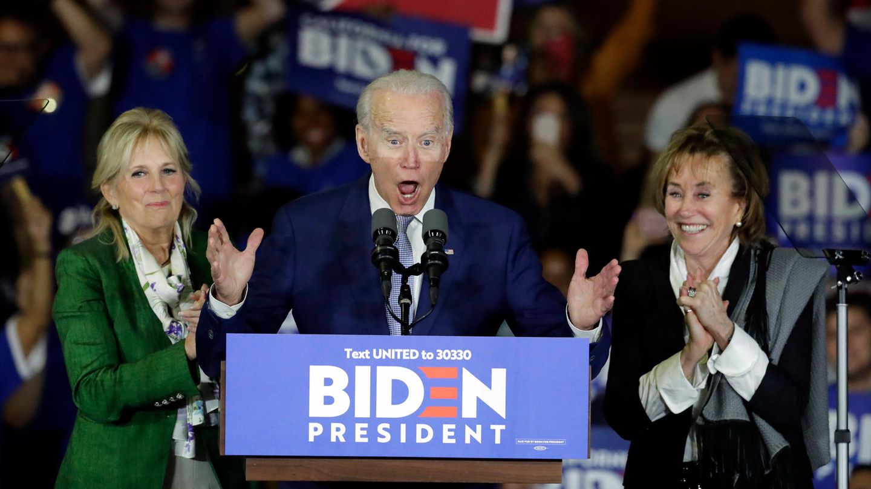 Dürfte aus dem Super Tuesday als Sieger hervorgehen: Kandidat Joe Biden