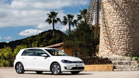 Der VW Golf als E-Alternative
