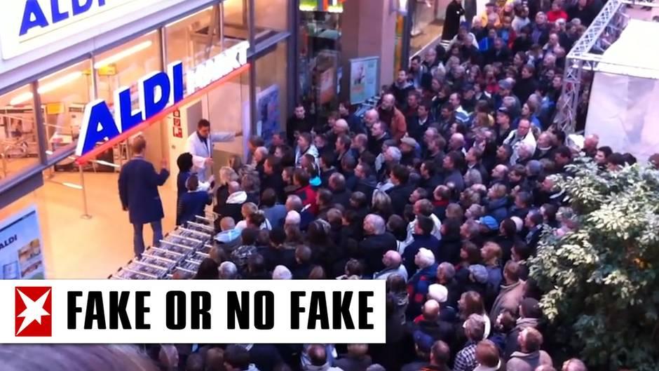 Video soll Hamsterkäufe zeigen – doch er Clip ist ein Fake