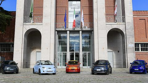 Fiat 500 Electric 2020