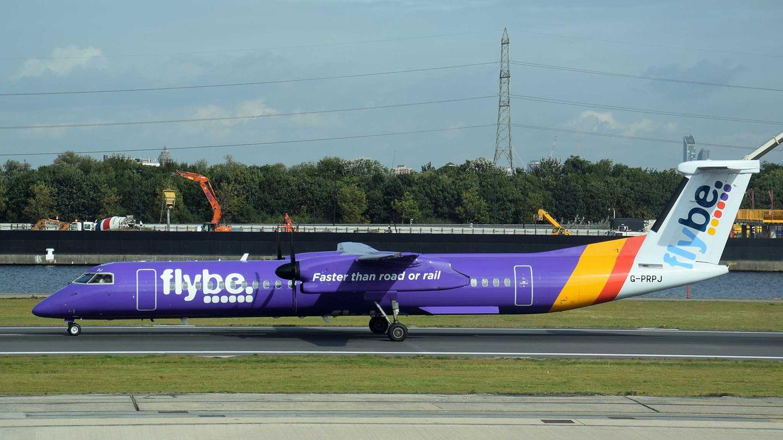 Maschine des britischen Regionalfliegers Flybe