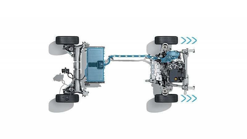 Der Antriebsstrang des Renault Megane E-Tech PHEV
