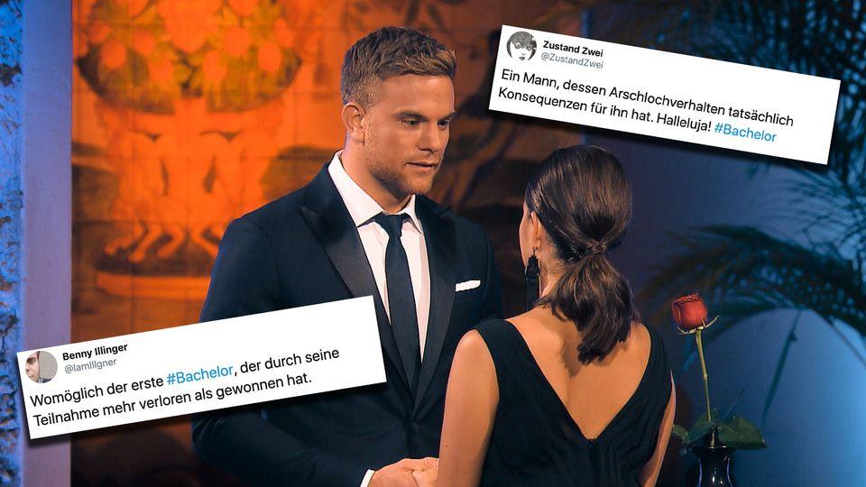 """Bachelor"" Sebastian Preuss gibt keiner Frau einer Rose im Finale der Staffel."