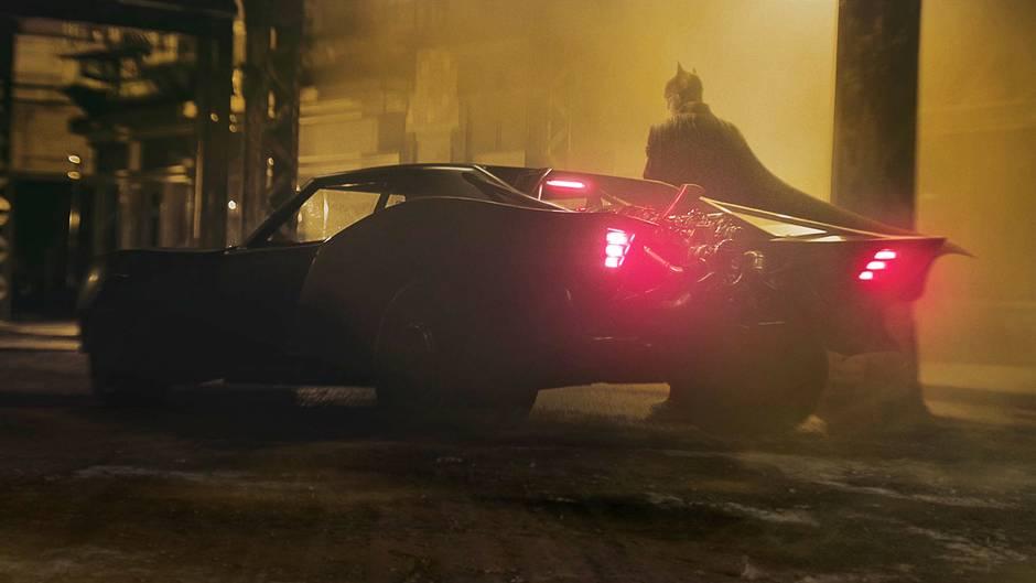 The Batman: Erste Bilder des neuen Batmobils veröffentlicht