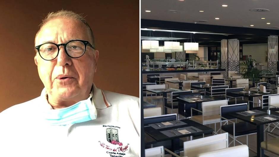 Coronavirus: Teneriffa-Urlauber Joachim Walther über sein Leben in Hotel-Quarantäne