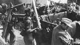 Gegen Ende des Krieges sollte diese Nahbekämpfungswaffen die gegnerischen Panzer aufhalten.