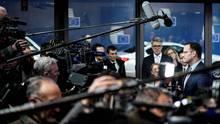 Gesundheitsminister Jens Spahn (CDU) spricht vor Medienvertretern