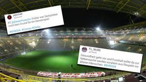 Bundesliga: BVB gegen Schalke wird wohl zum Geisterspiel