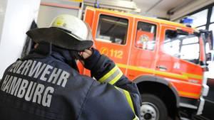 Wache am Berliner Tor in Hamburg: Hier soll der nach einer Coronavirus-Infektion gestorbene Feuerwehrmann gearbeitet hab