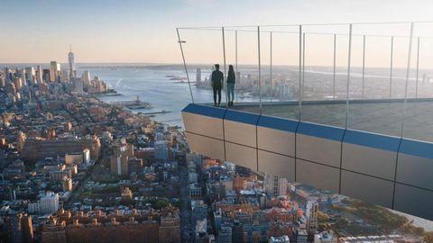 """""""The Edge"""": Spektakuläre neue Aussichtsplattform in New York eröffnet"""