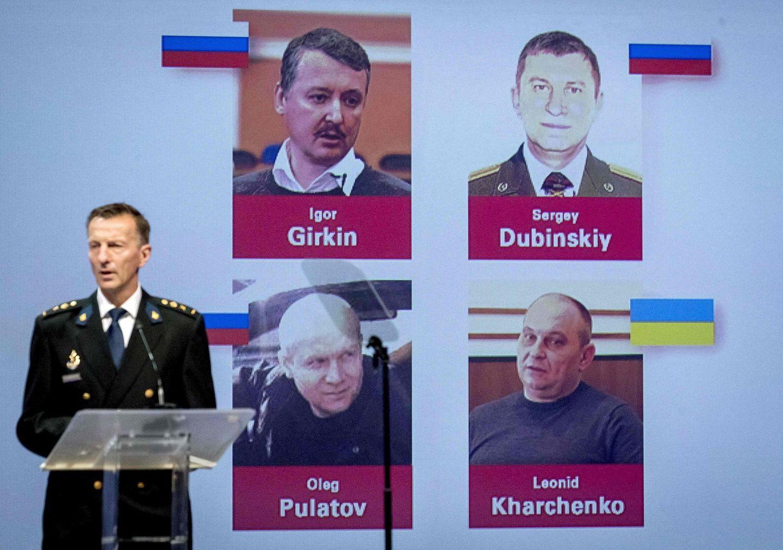 Ermittler präsentieren Fotos der vier Männer, die für den Abschuss der MH17-Maschine mitverantwortlich sein sollen