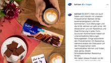 Instagram-Post von Bahlsen