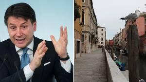 Geht es nach Premier Giuseppe Conte, sehen italienische Städte ab sofort alle aus wie diese Straße in Venedig: menschenleer.