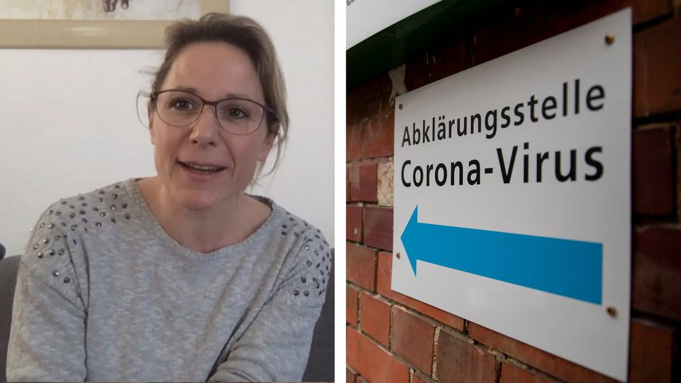 Birgit Schlerith ist an Covid-19 erkrankt. Wegen des neuartigen Coronavirus steht sie mit ihrer Familie unter Quarantäne.