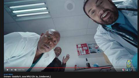 Eminem zollt verstorbenen Rapper Juice Wrld mit Musikvideo Tribut