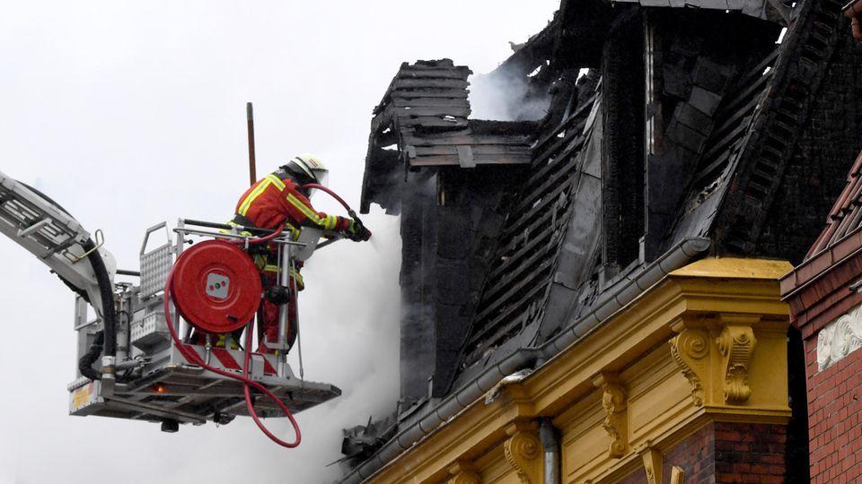 nachrichten deutschland - brand neumünster