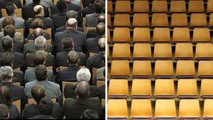 Volle oder leere Tribünen in den deutschen Veranstaltungshallen? Das ist in Zeiten des Coronavirus eine Frage des Bundeslandes