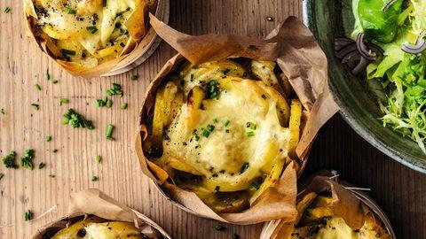 Raclette ohne Gerät