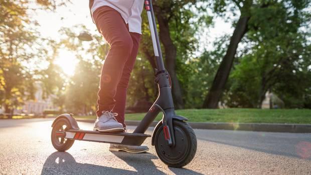 E-Scooter mit Straßenzulassung