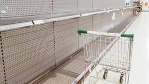 Wegen der Corona-Ausbreitung haben auch in Deutschland die Menschen mit Hamsterkäufen begonnen (Symbolbild)
