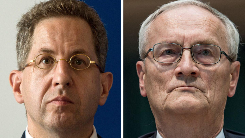 Hans-Georg Maaßen und August Hanning