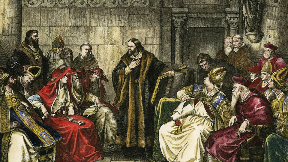 Johann Hus auf dem Papstkonzil Konstanz