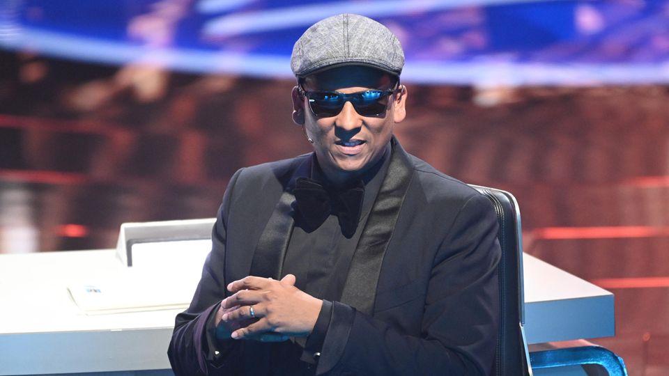 """Xavier Naidoo, bislang Juror der RTL-Musikshow """"Deutschland sucht den Superstar"""""""