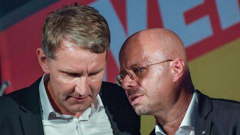 """Björn Höcke und Andreas Kalbitz vom AfD-""""Flügel"""""""