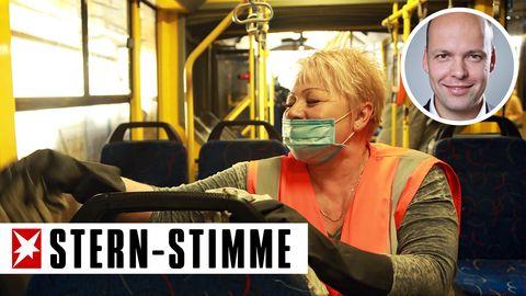 Müllabfuhr, Polizei, Busfahrer, Briefträger, Kassiererin, Ärzte und Krankenschwestern, Feuerwehr . die können nicht Homeoffice machen. Sie sind die neuen Helden der Arbeit.