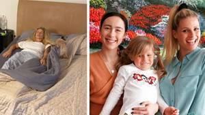 Michelle Hunziker und Familie