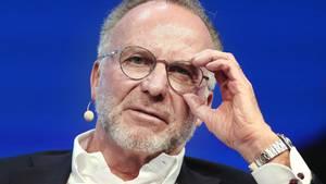 Bayern-Boss Karl-Heinz Rummenigge hat die Finanzen immer im Blick