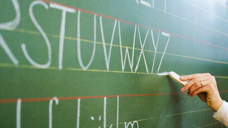 Unterricht an der Tafel muss vorerst ausfallen, stattdessen gibt es Hausaufgaben für die Schüler