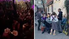 Trotz empfohlener Isolation feiern viele US-Amerikaner noch in Clubs