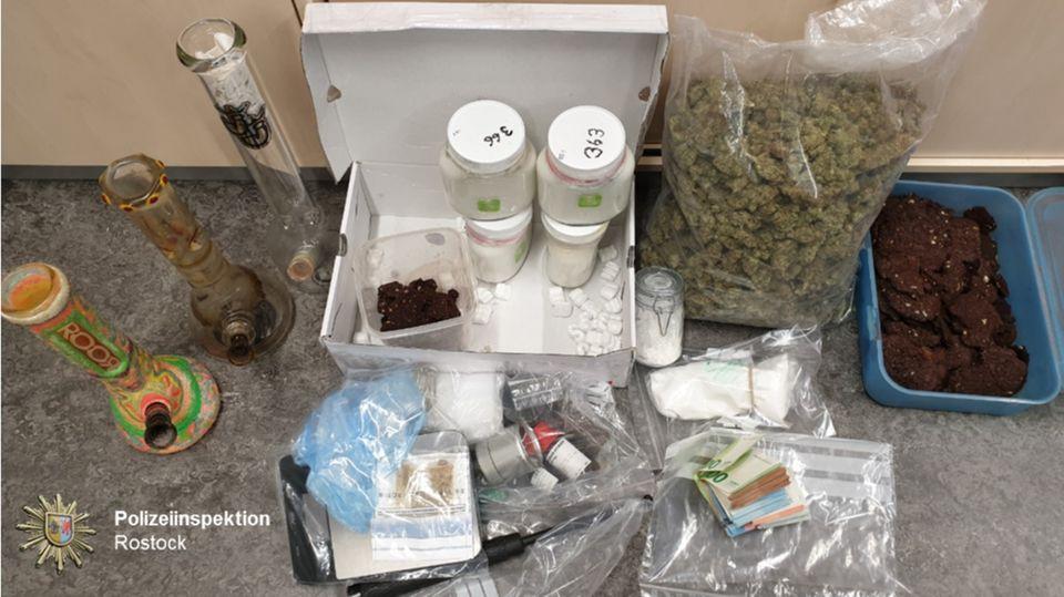 Nachrichten aus Deutschland: Drogenfund in Rostock
