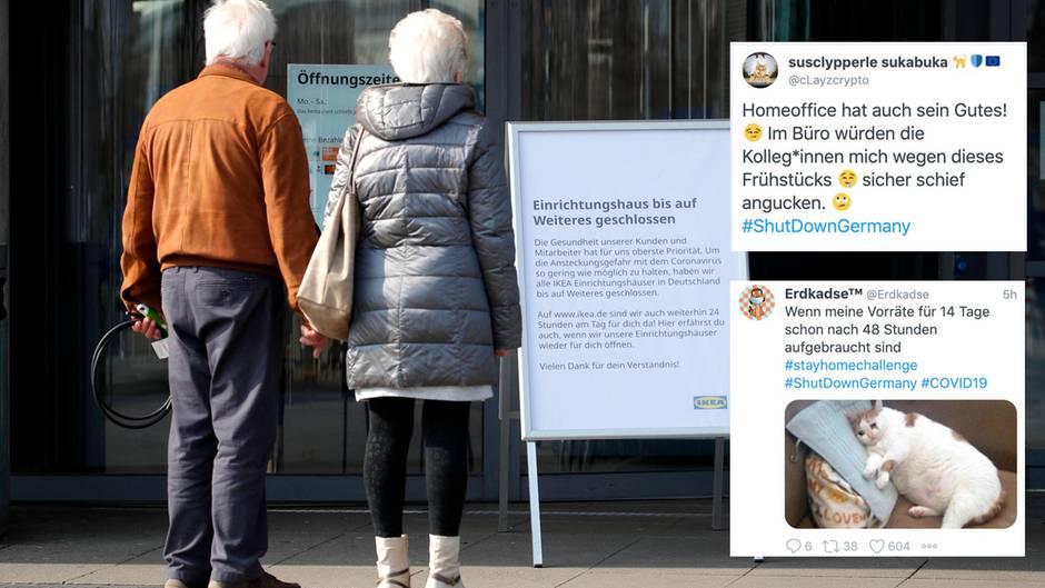 Coronavirus: #ShutdownGermany – Twitter-Reaktionen auf Corona-Maßnahmen
