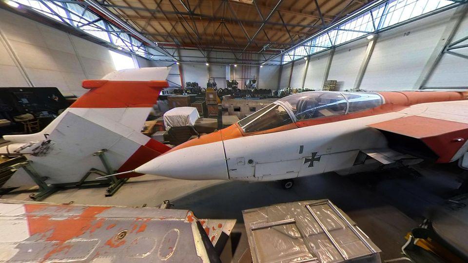 Der erste Prototyp des Panavia Tornado im Luftwaffenmuseum Gatow