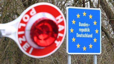 Einreisekontrollen an der deutschen Grenze