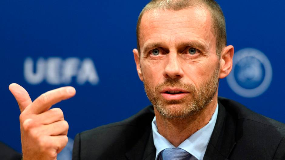 """Uefa-Präsident Aleksander Ceferin: """"Es ist schwer zu sagen"""""""