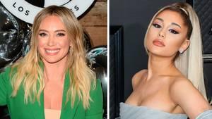 Hilary Duff und Ariana Grande